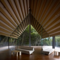 * Architecture: Momofuku Ando Center by Kengo Kuma & Associates