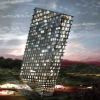* Architecture: TLT Tilting Building by BIG (Bjarke Ingels Group)
