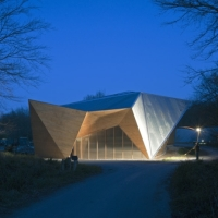 * Architecture: Hooke Park Big Shed by AA Design & Make